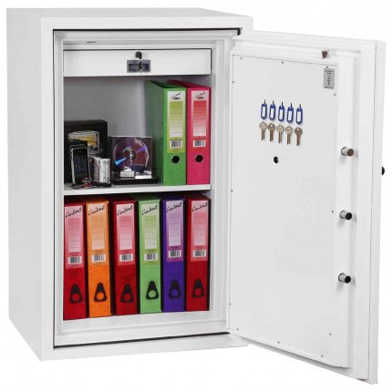 Phoenix Fire Fighter FS0443E 2 hours Fireproof Security Safe - interior view