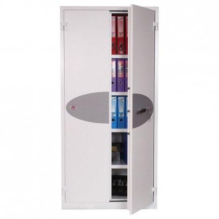 Phoenix FS1513K Fire Ranger Fire Security Paper Storage Cabinet door ajar