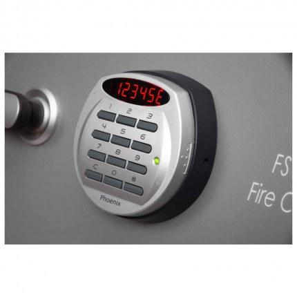 Phoenix FS1911E Fire Commander Electronic 2 Hour Fireproof Cabinet - Lock detail
