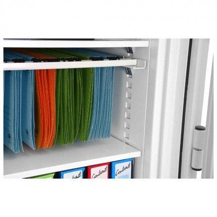 Phoenix FS1911F Fire Commander Fingerprint 2 Hour Fireproof Cabinet - internal shelf storage for paper