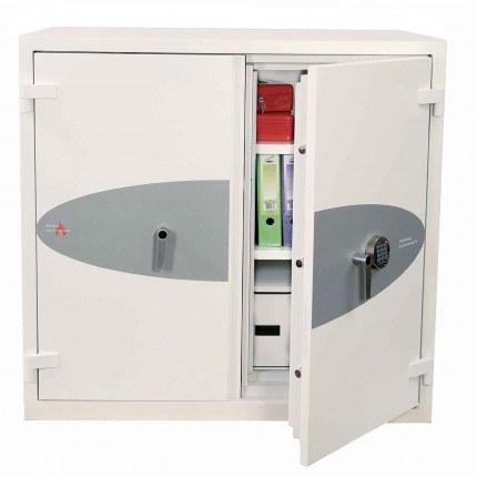 Phoenix Fire Commander PRO FS1921E 1 Hour Electronic Security Cabinet - door ajar