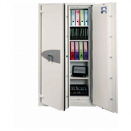 Phoenix Fire Commander PRO FS1922E 1 Hour Electronic Security Cabinet - 1 door open
