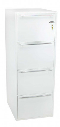 Phoenix Archivo Fire File FS2234K 4-Dr Key Lock Filing Cabinet