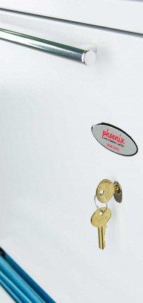 Phoenix Archivo Fire File FS2234K 4-Dr Key Lock Filing Cabinet lock detail
