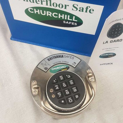 Churchill CS009 G2 £17,500 Rated Floor Security Safe - electronic lock