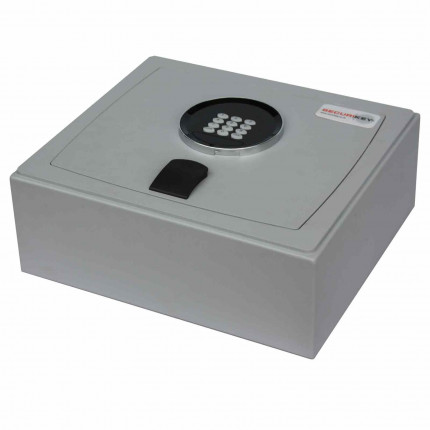 Securikey Euro Vault SFEV-GS-TZE Digital Lock Security Safe - Door Closed showing Keypad