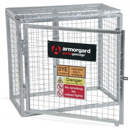 Armorgard GGC1 Gorilla Modular Gas Bottle Cage - Open