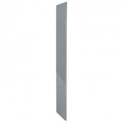 Probe BuzzBox Satin Laminate Locker End Panel - Grey Satin