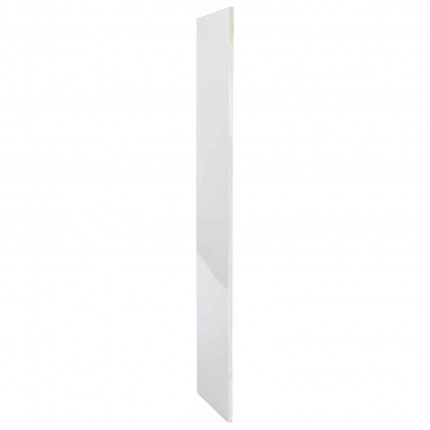 Probe ShockBox Laminate Locker End Panel - Pearly White