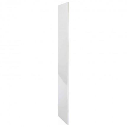 Probe BuzzBox Satin Laminate Locker End Panel - Satoin white