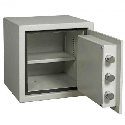 Dudley Europa EuroGrade 0 MK3 Size 0 £10,000 Insurance Rated Key Lock Fire Security Safe - door open