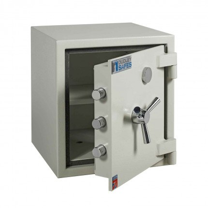 Dudley Europa 1 Eurograde 1 £10,000 High Security Fire Safe - door ajar