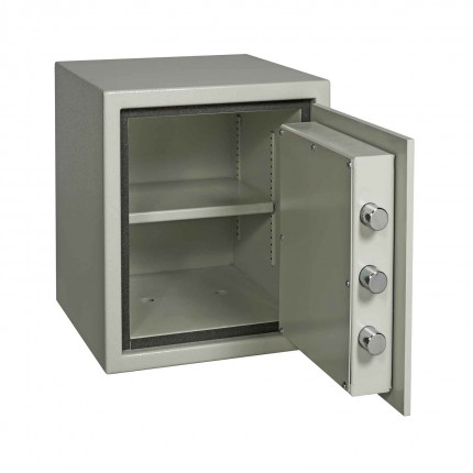 Dudley Europa 1 Eurograde 1 £10,000 High Security Fire Safe - door wide open