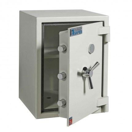 Dudley Europa 2 Eurograde 0 £6,000 High Security Fire Safe - door ajar