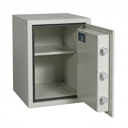 Dudley Europa 2 Eurograde 0 £6,000 High Security Fire Safe - door wide open