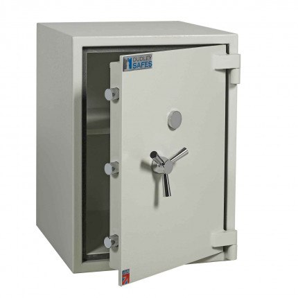 Dudley Europa 3 Eurograde 1 £10,000 High Security Fire Safe - door ajar