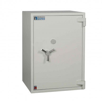 Dudley Europa 4 Eurograde 1 £10,000 High Security Fire Safe - door closed