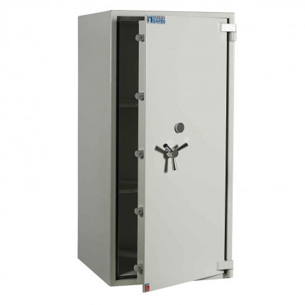 Dudley Europa 6 Eurograde 0 £6,000 High Security Fire Safe - door ajar