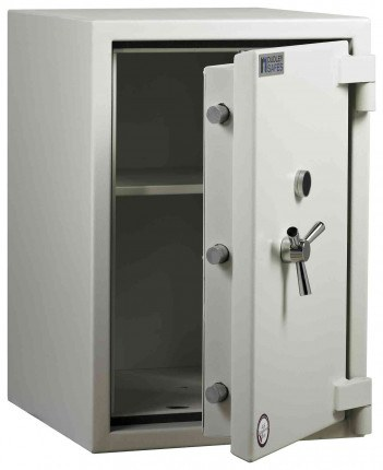 Dudley Europa £17,500 Drawer Drop Security Safe Size 4 - door ajar