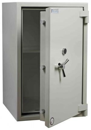 Dudley Europa £10,000 Drawer Drop Security Safe Size 5 - door ajar