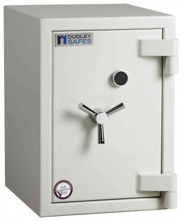 Dudley Europa £6,000 Drawer Drop Security Safe Size 3 - door closed shown without drawer