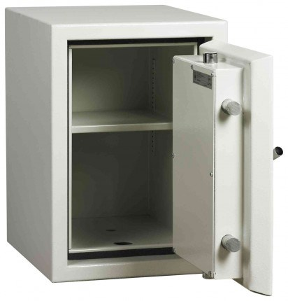 Dudley Europa £10,000 Drawer Drop Security Safe Size 2 - door open shown without drawer