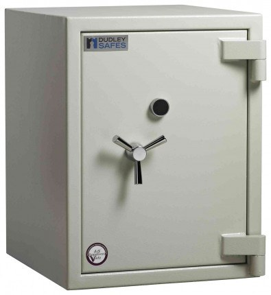 Dudley Europa £10,000 Drawer Drop Security Safe Size 3 - door closed shown without drawer