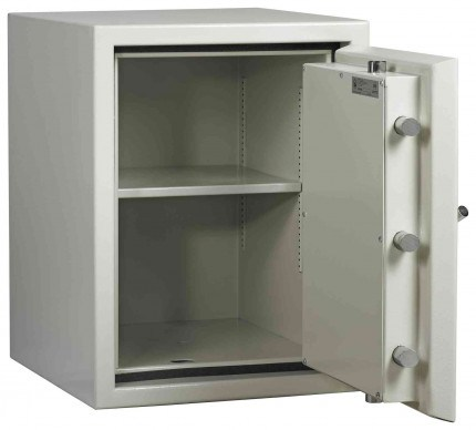Dudley Europa £10,000 Drawer Drop Security Safe Size 3 - door open shown without drawer