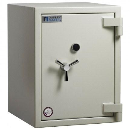 Dudley Europa Eurograde 3 Size 2 Key Lock High Security Safe - closed