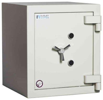 Dudley Europa £60,000 Drawer Drop Security Safe Size 1 - door closed shown without drawer
