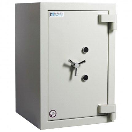 Dudley Europa Eurograde 4 Size 2 high Security Safe - door closed