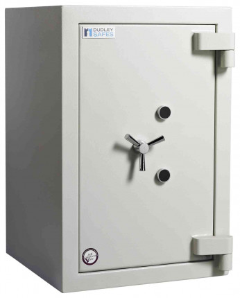 Dudley Europa £60,000 Drawer Drop Security Safe Size 3 - door closed shown without drawer