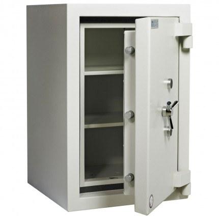 Dudley Europa Eurograde 4 Size 2 high Security Safe - door ajar