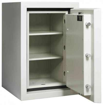 Dudley Europa £60,000 Drawer Drop Security Safe Size 2 - door open shown without drawer