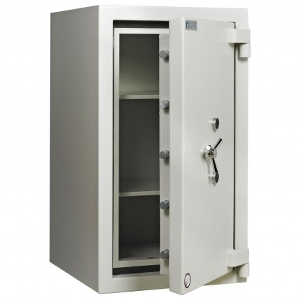Dudley Europa Eurograde 4 Size 3 Key Lock High Security Safe - door ajar