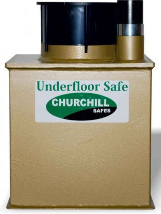 Churchill D4LD Domestic Underfloor Deposit Security Safe