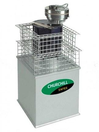 £35,000 Rated High Security Underfloor Safe - Churchill Emerald EE23