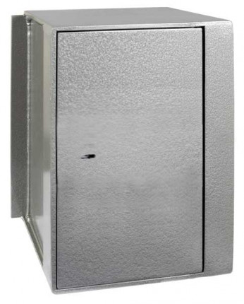 Churchill Magpie M4 wall safe with a Key Lock Option in the closed position