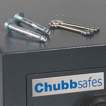 Chubbsafes Zeta 45K Fixing Bolts