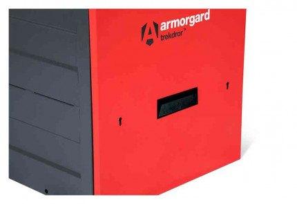 Armorgard Trekdror TKD3 Van Security Tool Storage Locking High Drawer  - lock close up