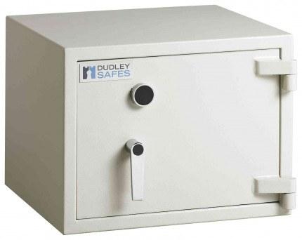 Dudley Harlech Lite S1 Fire Laptop Safe £2000 Size 0 - door closed