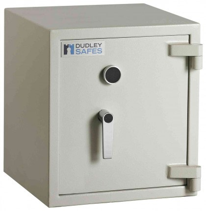 Dudley Harlech Lite S1 Size 1 Insurance Rated Security Safe - door closed