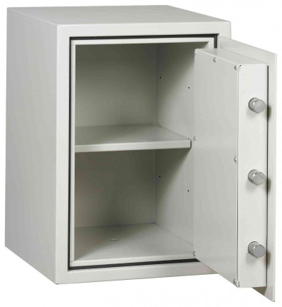 Dudley Harlech Lite S1 Size 2 £2000 Fire Resistant Security Safe - door open