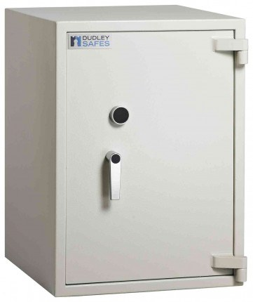 Dudley Harlech Lite S1 Fire Security Safe £2000 Size 3 - closed