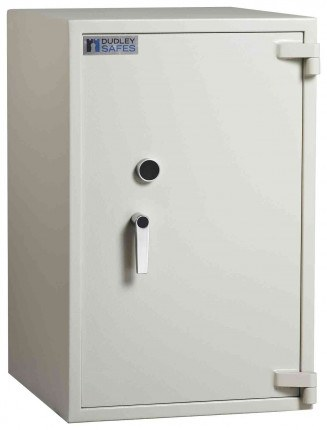 Dudley Harlech Lite S1 Fire Security Safe £2000 Size 4 - door closed