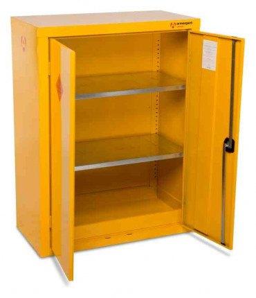 Armorgard Safestor HFC5 Flammable 120cm 2 Door Cupboard - open