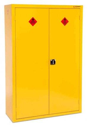 Armorgard Safestor HFC6 Flammable 2 Door High Cupboard closed
