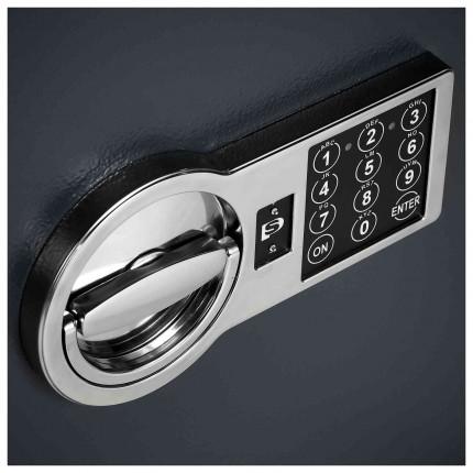 Burton Home Safe 2E Eurograde 0 £6,000 Rated Fire Security Safe - digital lock