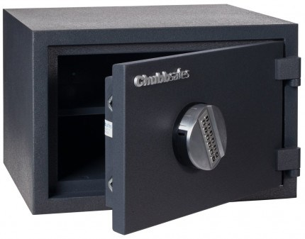 Chubbsafes Homesafe S2 20E Electronic Fire Security Safe - ajar