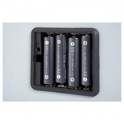 Chubbsafes Homestar Laptop - 4 AA batteries supplied with safe